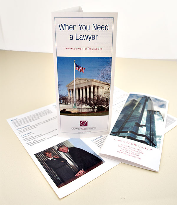 Marketing With Law Firm Brochures  Blumberg Blog